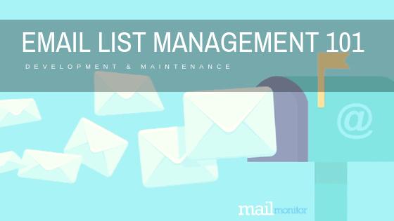 Email List Management 101