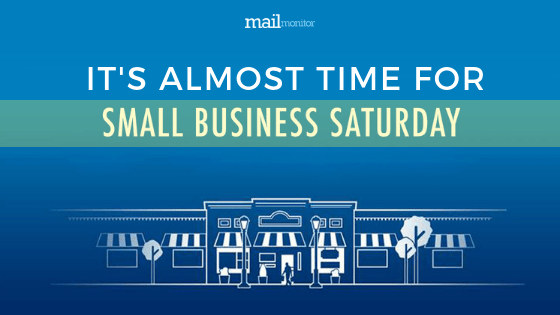 Get Ready — Small Business Saturday is Coming!