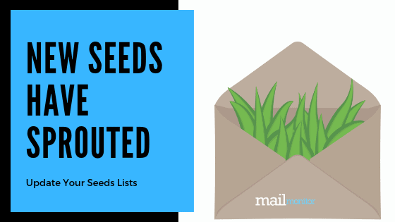 New Seeds Have Sprouted! Update Your Seed List